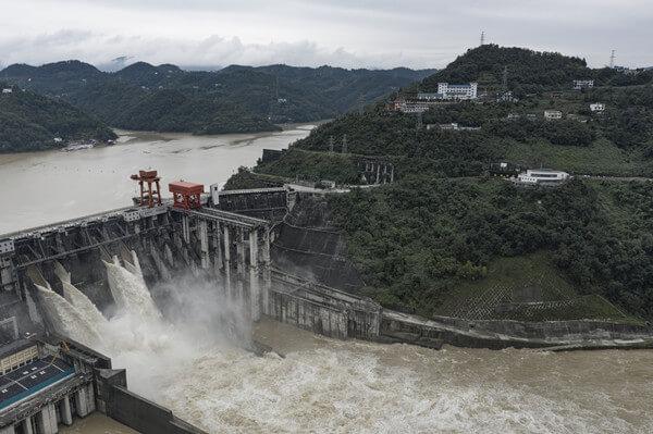 Ankang Hydropower Station